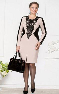 Одежда для полных, фото верхней модной одежды для полных: фасоны пальто, зимняя мода. Стильная одежда для полных дам: деловые платья и костюмы 1 2 Главная