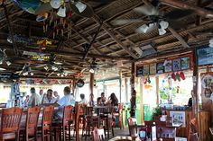 Florida - Fort Pierce - Waterfront - Tiki Bar - went here a few summers ago