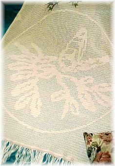 Butterfly Filet Afghan ~ free pattern