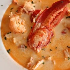 25 Seafood Stew Dishes To Make All Year - Seafood dishes to deal with the heat of summer months and the coldness of winner months? Seafood stew is such a perfect choice. Lobster Recipes, Fish Recipes, Seafood Recipes, Gourmet Recipes, Great Recipes, Cooking Recipes, Healthy Recipes, Lobster Dishes, Holiday Recipes
