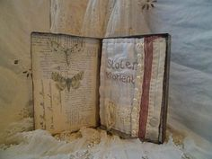 Art Assemblage story tin  Stolen Moment by MesssieJessie on Etsy, £42.00