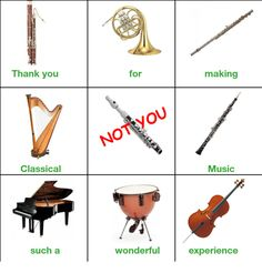 """17 Classical Music Memes For All The Cultured Minds 17 Classical Music Memes For All The Cultured Minds - Funny memes that \""""GET IT\"""" and want you to too. Get the latest funniest memes and keep up what is going on in the meme-o-sphere. Marching Band Jokes, Marching Band Problems, Flute Problems, Funny Band Memes, Music Memes Funny, Funniest Memes, Flute Memes, Musician Jokes, Band Nerd"""