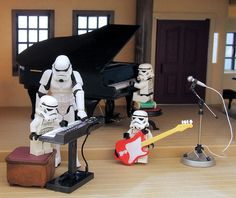 Lego Stormtrooper Band