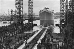 harland & wolff shipyard, belfast, co. antrim, north of ireland - where titanic was built