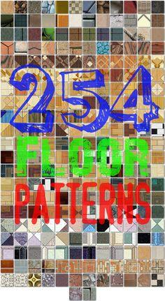 254 Seamless Floor Patterns for Photoshop by xDustyx.deviantart.com on @DeviantArt