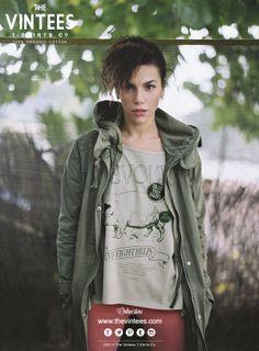 ★★ Enjoy The Vintees' new collection! ★★  #thevintees #trevolution #organic #organiccotton #foxfibre #tees #lauraleal #irenepalacio #vivalasangre