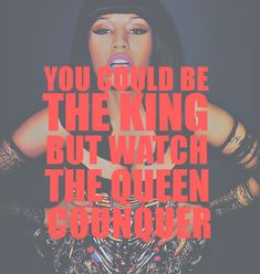 you could be the KING but watch the QUEEN conquer <3 #nickitheninja