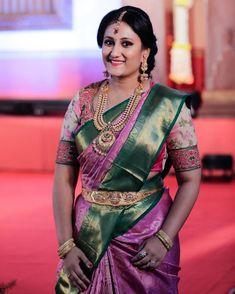 Bedroom Closet Design, Gold Jewelry, Jewellery, Bridal Blouse Designs, Silk Blouses, Bride Portrait, Colour Combinations, Indian Attire, Unique Colors