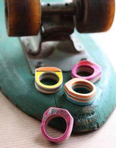 Custom Skateboard Rings