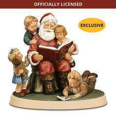 M.I. Hummel Figurine - Storytime with Santa