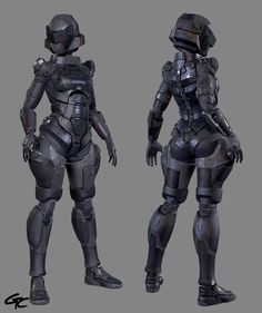 ArtStation - MP Proto Suit Type F, Gerald Cruz