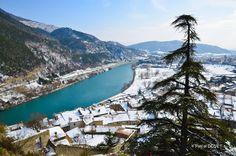 C'est encore l'hiver à Sisteron ... La Durance vue depuis la Citadelle - Alpes de Hautes Provence 04