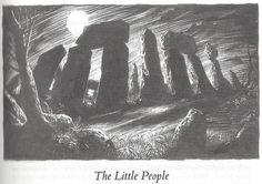 Greg Staples illustrator - The Little People by Robert E. Howard - poem by KiplingThe Little People | da Cadwalader Ringgold