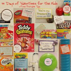 14 Days of Valentines for the Kids by babyblu3