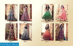 MASKEEN LAVISH-3 WHOLESALE PARTYWEAR GOWNS CATALOG #nicecollection  #goodmateriel  #awesomelook Call&Whatsapp;+917405434651 website link :-http://textiledeal.in/wholesale-product/4217/Maskeen-lavish-3-Wholesale-partywear-Gowns-Catalog