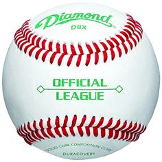 Diamond Official League Duracover DBX Baseballs (12 pack) >>> Click image to review more details.