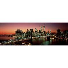 Brooklyn Bridge, NYC // Color  By Richard Berenholtz