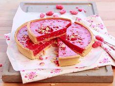 Voir la recette de la tarte aux pralines roses en vidéo