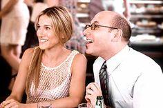 Stanford y Carrie de Sexo en Nueva York.