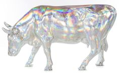 Mootallic Cow, created by Michelle California-Aguiar and Davide Aguiar of CAN Decorative Painting and sponsored by Quintiles for CowParade N...
