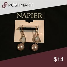 Napier Earings Napier Earrings with a touch of opal silver pearl Jewelry Earrings Pearl Jewelry, Pearl Earrings, Silver Pearls, Opal, Touch, Pearl Studs, Bead Jewelry, Opals, Beaded Jewelry