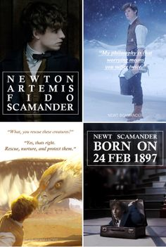 Happy 121st birthday Newt Scamander!! February 24th