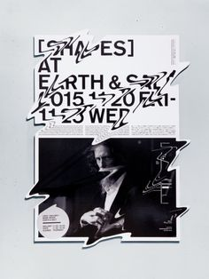 SHAPES at Earth & Salt These are the announcement poster and exhibition items for an exhibition held in Ebisu, Tokyo, with the theme of Katachi (shapes). Graphic Design Posters, Graphic Design Typography, Graphic Design Illustration, Type Posters, Poster Designs, Digital Illustration, Movie Posters, Poster Layout, Print Layout