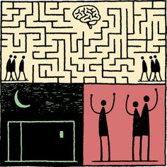 It's Nice That : Illustration: Tom Gauld brings a dose of humour to the trickiest of topics, Alzheimer's