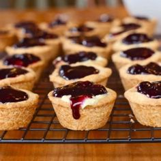 Blueberry Custard Tartlets with Shortbread Crust