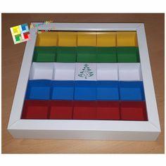 Adventskalender oder Setzkasten für 23er Rahmen Silhouette Files, Scrappy Quilts, Letter Case, Boxes, Advent Calenders, Frame, Homemade