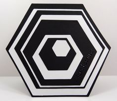 black and white wrapping paper hexagon - Google Search
