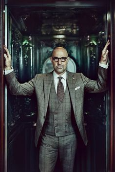 Stanley Tucci for The Rake