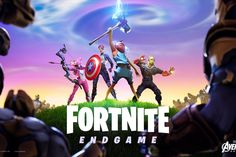 GamerKidKole plays new New Fortnite update Avengers Endgame Game Mode gameplay Hero's Edition of Avengers Endgame Mode Find Thor's Hammer, Hawkeye's Bow, Cap. Infinity War, The Avengers, Funny Avengers, Univers Marvel, Crossover, Thor, Alaskan Dog, Iron Man, Primary Games