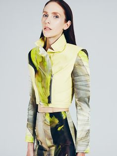 Mikhael Kale Spring/Summer 2014 Collection | Hildie Gifstad by Felix Wong