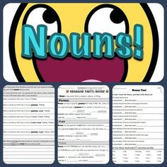 *FREE* This worksheet explains the basics of what noun is (person, place, or thing) and also delves into the specific and general forms that nouns can take. Additionally it teaches the details of seen and unseen nouns.  Attached is a paired assessment that tests the students knowledge of what is and isn't a noun.  Every grammar worksheet starts off with a simple explanation of the part of speech accompanied with guided practice. After that the students are moved onto independent practice.