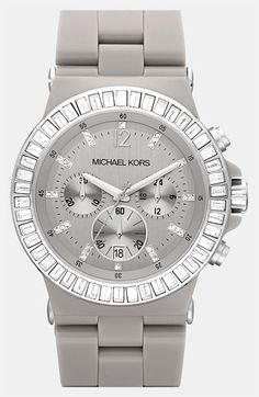 MK Ceramic Gray Watch