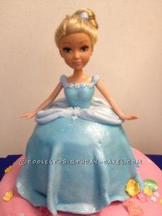 Coolest Cinderella Princess Cake...