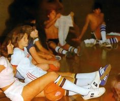 Loved my tube socks! Even Catholic school girls dressed like this for sports and wore tube socks with their catholic girl skirt in the Best Memories, Childhood Memories, Catholic School Girl, Bad Fashion, Back In My Day, Gym Classes, Tube Socks, Ol Days, Thing 1
