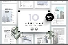 Corporate business flyers bundle by Marie T on - Graphic Templates Search Engine Email Newsletter Template, Template Flyer, Template Brochure, Letterhead Template, Business Flyer Templates, Flyer Design Templates, Print Templates, Brochure Design, Brochure Ideas