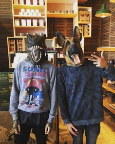 Oliver Sykes and Jordan Fish- Bring Me The Horizon.  Is it sad that I can tell them apart even when they have masks on.. lol