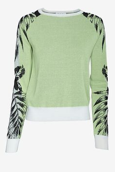A.L.C. Sanborn Sleeve Detail Sweater, $335, available at Intermix.