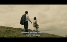 """""""-and I'll always remember it."""""""