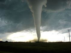 A tornado or some other act of nature would be pleasantly terrifying to capture!