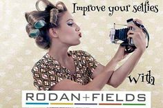 You have seen the amazing transformation pictures from Rodan+Fields! Isn't it time to transform your looks and improve your selfie? Message me.  All for a 60 day money-back guarantee!