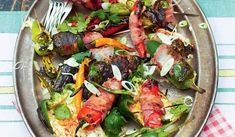 Lemony Sheet Pan Fish Fillets With Zucchini & Tomatoes - Chrissy Teigen Crunchy Noodle Salad, Grilled Sardines, Roast Fish, Zucchini Tomato, Fish Dinner, Fish Recipes, Seafood Recipes, Easy Weeknight Meals