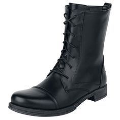 Ladies Boot - Schnürstiefel von Black Premium by EMP