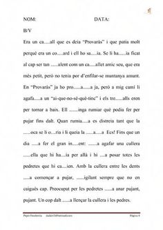 ortografia | Scribd, dictats,autodictats, etc molt bo Catalan Language, Reading Comprehension, Valencia, Classroom, Teacher, Writing, Learning, Amber, English