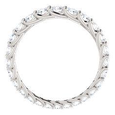 Eternity Ring Diamond, Diamond Clarity, Eternity Bands, Diamond Bands, Diamond Cuts, Natural Diamonds, Round Diamonds, Platinum Metal, Diamond Sizes