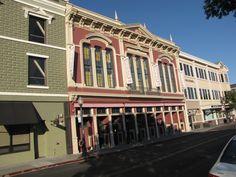 Napa Valley Opera House, Napa, CA -  Hopefully not damaged by the recent earthquake. (Photo by Len Mc Cuen 2014)