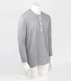 Beautyfine Men_Shirts Sports Apparel Solid Slim Personality Long Sleeve Top&Blouse V Button Neck